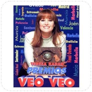 Teresa Rabal Premios Veo Veo